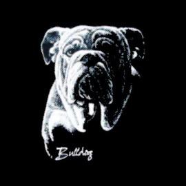 t-shirt bulldog frame