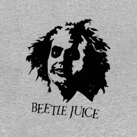 tee shirt beetle juice face