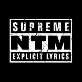 Tee shirt Supreme NTM Explicit