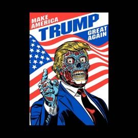 donald trump zombie t-shirt