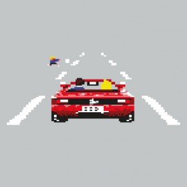 Out Run pixel