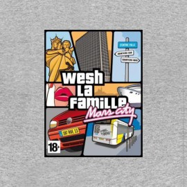 tee shirt marseille gta wash