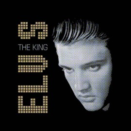 tee shirt elvis presley the king