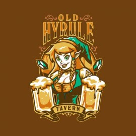 old beer hyrule zelda t-shirt