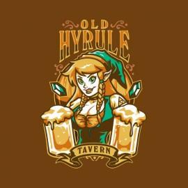 tee shirt zelda old hyrule biere