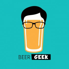 t-shirt geek beer