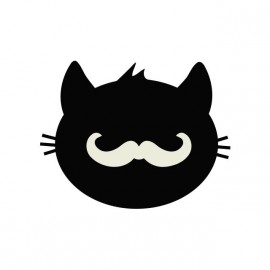 tee shirt hipster kitty