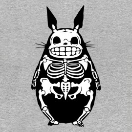 Tee shirt Totoro squelette