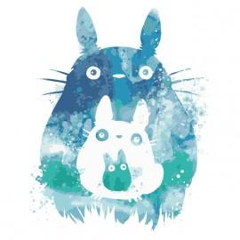 Tee shirt Totoro aquarelle
