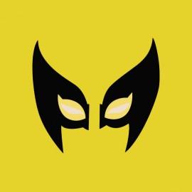 tee shirt wolverine masque