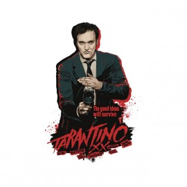 tarantino artwork t-shirt