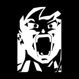 tee shirt songoku fury dragon ball z