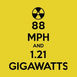 gigawatts back to the future t-shirt