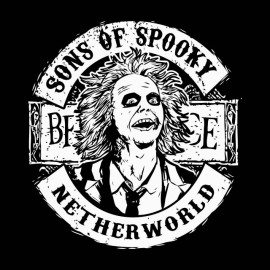 tee shirt beetlejuice sons of spooky