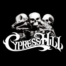 Tee shirt Cypress Hill skull and bones