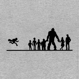 tee shirt les goonies evolution