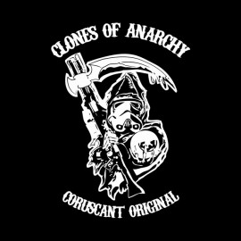 tee shirt clones of anarchy coruscant