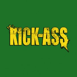 tee shirt kick-ass vintage master