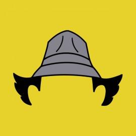 tee shirt inspecteur gadget coupe et chapeau