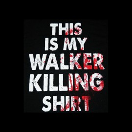 walking dead killing shirt t-shirt
