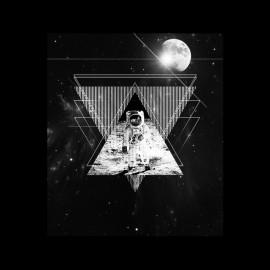 man on the Moon astonaute t-shirt