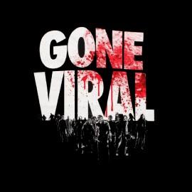 t-shirt walking dead gone viral
