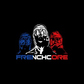 tee shirt frenchcore noir