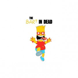 t-shirt bart the dead parody