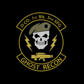 tee shirt ghost recon 5th sfg