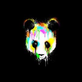 tee shirt panda graphic