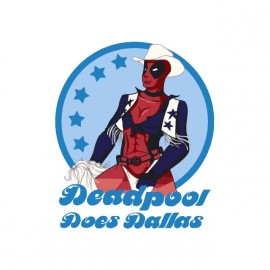 tee shirt deadpool dallas cowboy