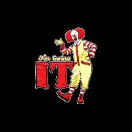 tee shirt loving it stephen king clown