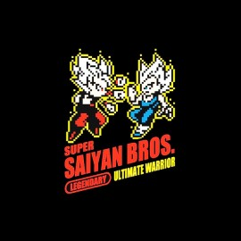 tee shirt super sayan bros dragon ball