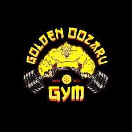 tee shirt golden oozaru gym dragon ball