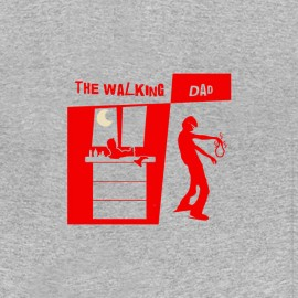 tee shirt papa fatigue walking dad