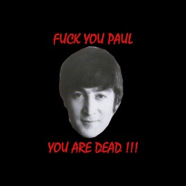 tee shirt Paul McCartney rip humour