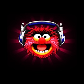 tee shirt animal dj les muppets