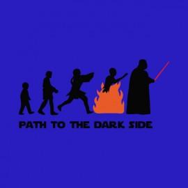tee shirt star wars dark side path