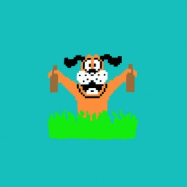 tee shirt duck hunt picole nintendo