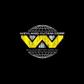tee shirt weyland yutani corp alien vintage