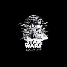 tee shirt rogue one star wars affiche