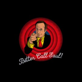 tee shirt better caul saul cartoon parodie
