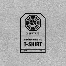 tee shirt dharma initiative lost