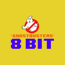 tee shirt ghostbusters 8 bit console