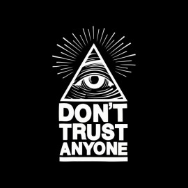 tee shirt illuminatis don t trust anyone illuminati