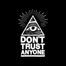tee shirt illuminatis don t trust anyone illuminati