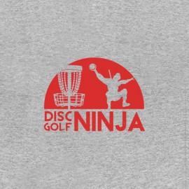 tee shirt disc golf ninja