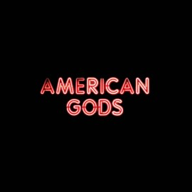 tee shirt american gods neon