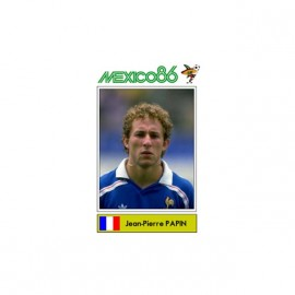 tee shirt jean pierre papin mexico 86