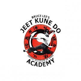 tee shirt bruce lee academie kung fu